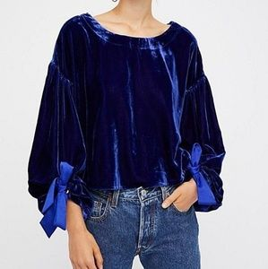 NWT Free People  'Gimme Some Lovin Top Lg